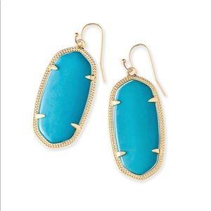 Kendra Scott Elle Earrings- Turquoise